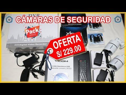 OFERTA: VENTA DE KIT DE 2 CÁMARAS DE SEGURIDAD HD - AREQUIPA-PERU SISTEMA CCTV 720P