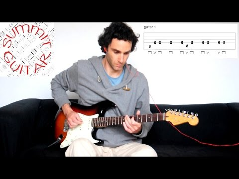 Fela Kuti - No Agreement - Afrobeat guitar lesson / tutorial / cover with tablature