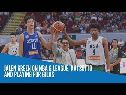 [Inquirer]  Jalen Green on NBA G League, Kai Sotto and playing for Gilas