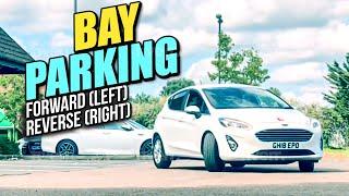 Bay Parking Forward (Left) - Reverse (Right)