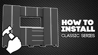 How To Install Classic Series Cabinets