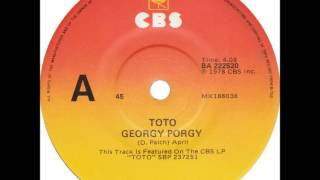 """Toto - Georgy Porgy (Dj """"S"""" Bootleg Extended Classy Re-Mix)"""