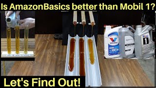 Is AmazonBasics Full Synthetic Motor Oil better than Mobil 1? Let's find out!
