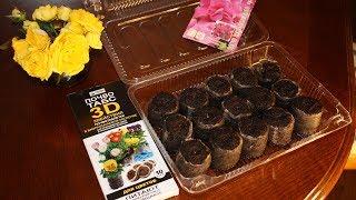 Как выращивать рассаду в торфяных таблетках видео