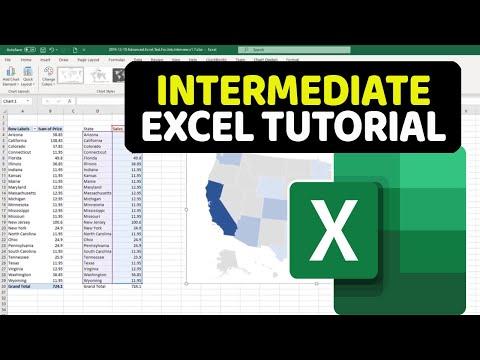 Intermediate Excel Tutorial