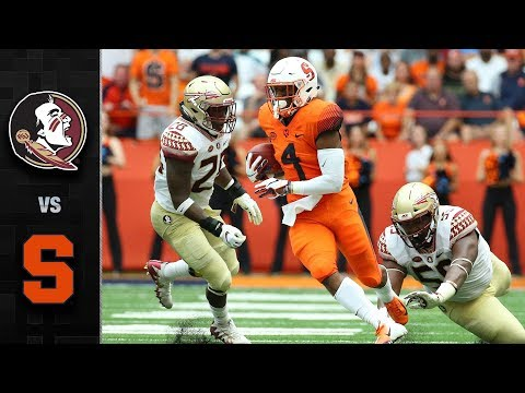ca872d71eb Florida State vs. Syracuse Football Highlights (2018)