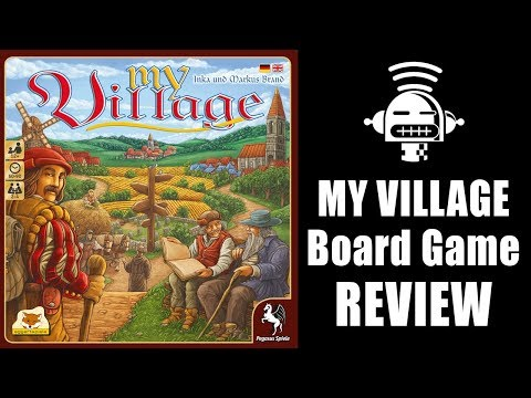 My Village board game review - Demented Robot Games