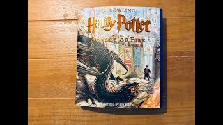 Flip Through Harry Potter And The Goblet Of Fire Jim Kay Illustrated Edition