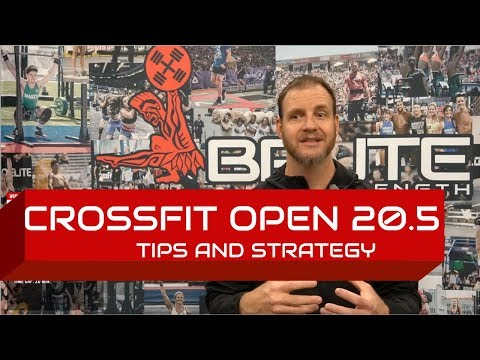 CrossFit Open 20.5 Tips and Strategy