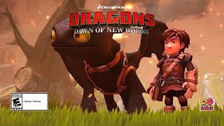 videó DreamWorks Dragons Dawn of New Riders