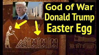 God of War: Donald Trump Easter Egg (First Valkyrie DUNNR Complete Walkthrough) in God of War 4