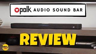 Dont Polk Around -- We React to the Polk Audio React Sound Bar