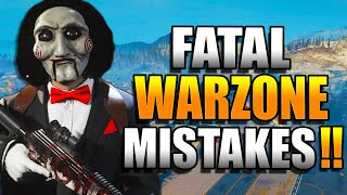Avoid These Mistakes in WARZONE! Get BETTER at WARZONE! Warzone Tips! (Warzone Training)