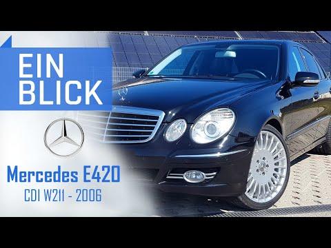 Mercedes E420 CDI W211 2006 - Der Understatement-Autobahnkönig - Vorstellung, Test & Kaufberatung