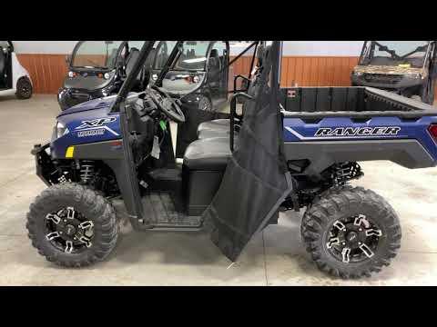 2021 Polaris Ranger XP 1000 Premium in Ottumwa, Iowa - Video 1