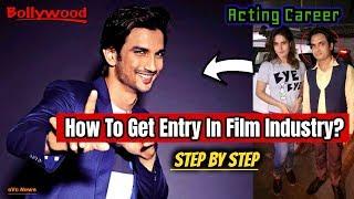 How To Get Entry in Bollywood! | बॉलीवुड में कैसे जुड़ें! | Step By Step | Bollywood Auditions! 🎬