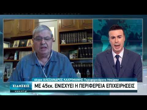 Συνέντευξη Αλ. Καχριμάνη Περιφερειάρχη Ηπείρου | 16/11/2020 | ΕΡΤ