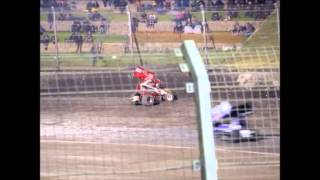 Perth Motorplex | Mick Doble Crash