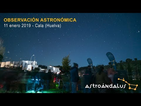 Observación durante la Star Party de Cala