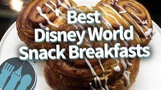 Top 10 Best Disney World Snack Breakfasts - Video Youtube
