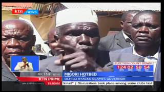Raila Odinga has condemned Migori chaos saying ODM party will not allow hooliganism