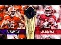 A Final Do College Football 2019 Clemson X Alabama
