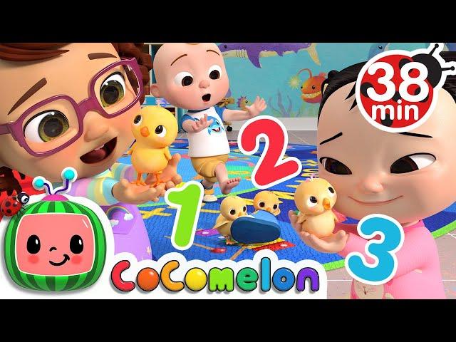 Numbers Song   + More Nursery Rhymes & Kids Songs - CoCoMelon