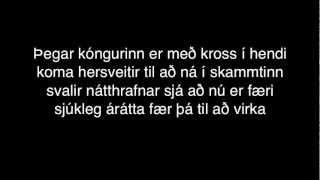 Ásgeir Trausti - Leyndarmál LYRICS