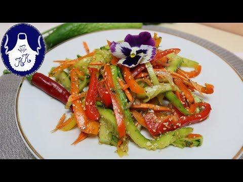 Gurken - Paprika - Salat / Sommersalat download YouTube ...
