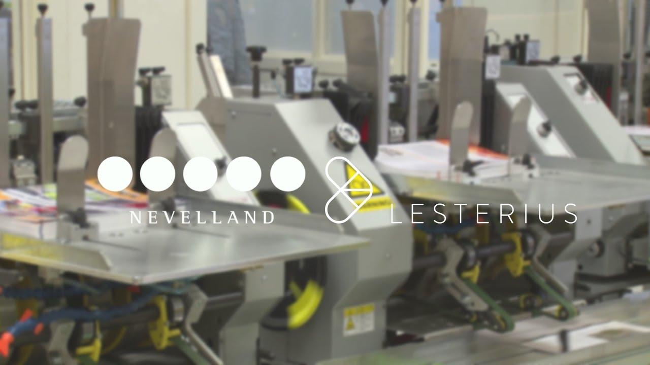 Eenvoudige interface voor drukkerij: Nevelland