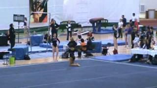 Shannon Mitchell - Level 10 Region 7 Gymnastics Championships- Floor