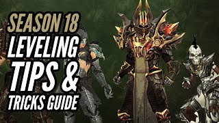 Diablo 3 - Season 18 Leveling Tips & Tricks Guide For All Classes