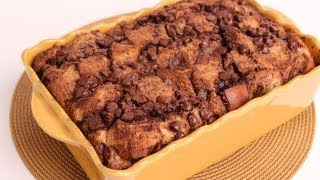 Chocolate Bread Pudding Recipe - Laura Vitale - Laura in the Kitchen Episode 337