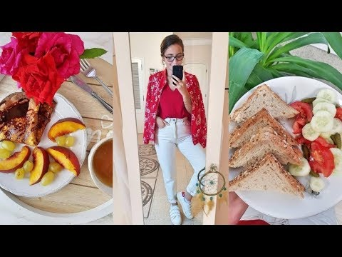 NEW JOB II WHAT I EAT IN A DAY II HEALTHY VLOG #12