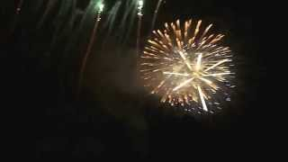 preview picture of video 'Feu d'artifice St-Jean 2013 ville St-Jerome'