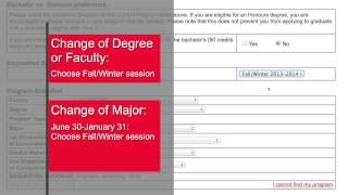 Making Program Change Requests