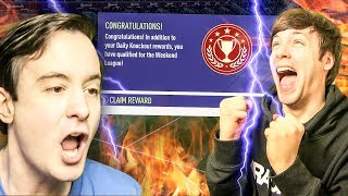 YES YES YES I HAVE DONE IT - FIFA 18 ULTIMATE TEAM PACK OPENING / FUT CHAMPIONS