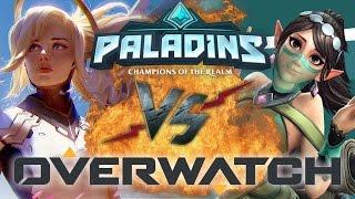 Рэп Баттл - Overwatch vs. Paladins