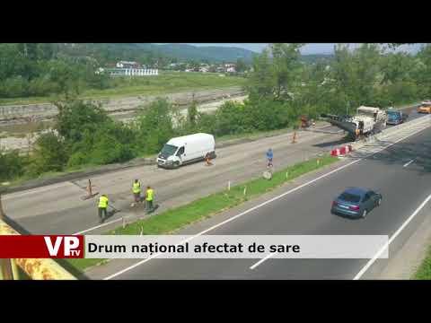 Drum național afectat de sare