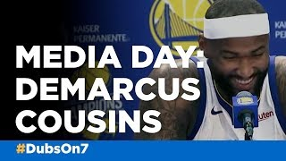 DeMarcus Cousins talks about first season on Golden State Warriors