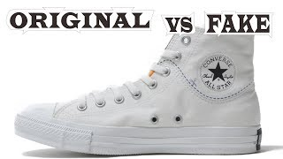 Converse Chuck Taylor All Star Cut Original & Fake