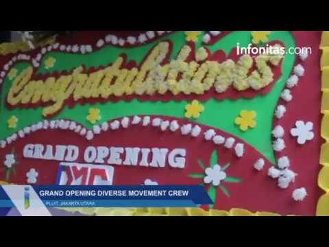 Grand Opening Diverse Movement Crew di Pluit