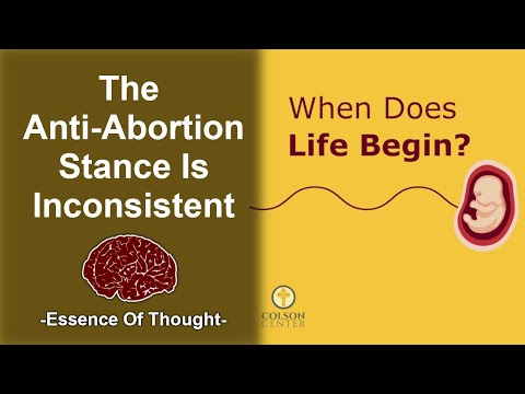 Does Life Begin at Conception? Does It Matter to the Abortion Debate? - RE: What Would You Say