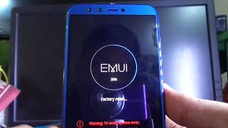 HONOR 9 Lite Hard reset and remove pattern lock (2018)