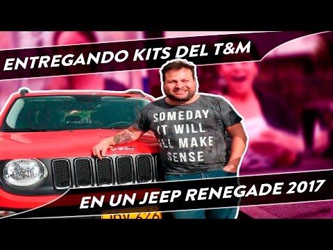 Regalando Kits T&M en un Jeep Renegade 2017 - Los Testeadores