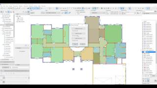 ARCHICAD   Automatic Overall Room Dimensions