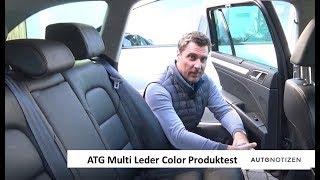 Auto-Innenraumpflege mit ATG Multi Leder Color Pro