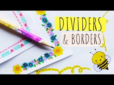 Awesome Design How To Draw Simple Border Design Quick And Easy