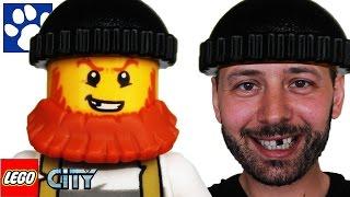 ЛЕГО СИТИ   Секретное убежище воришек 60068   ЛЕГО мультик   Unboxing LEGO City Crooks' Hideout