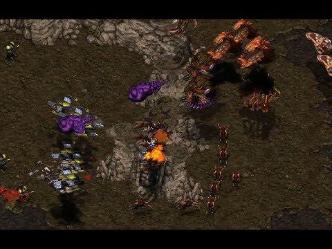 P - EPIC - Last (T) v Zelot (Z) on Heartbreak Ridge - StarCraft  - Brood War REMASTERED